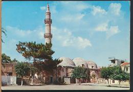 °°° 13058 - GREECE - CRETA - MOSCHEA DI NERANDZE - 1972 With Stamps °°° - Grecia