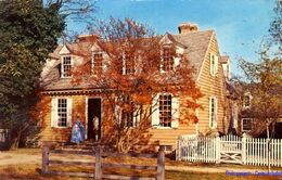 US - Williamsburg - Brush-Evard House - 1951 - Etats-Unis