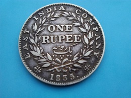 INDE   1  Roupie   1835   William III - Indien