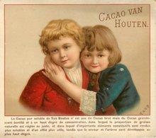 CHROMO CACAO VAN HOUTEN ENFANTS FORMAT 14 X 12.5 - Van Houten