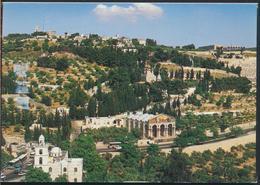°°° 13060 - ISRAEL - JERUSALEM - GARDEN GETHSEMANE - 2010 With Stamps °°° - Israele