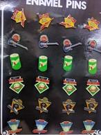 PINS COLECTION 24 Pins . 4 De Chaque - Tennis De Table