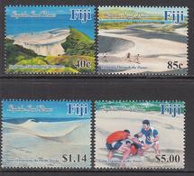 2017 Fiji Dunes Rugby  Complete Set Of 2 MNH @ FACE VALUE - Fiji (1970-...)