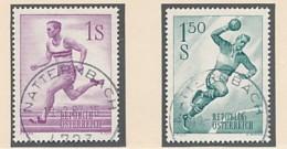 ÖSTERREICH Mi. Nr. 1069-1070 Sport - Siehe Scan - Used - 1945-60 Used