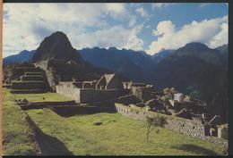 °°° 13061 - PERU - MACHUPICCHU - 1996 With Stamps °°° - Perù