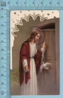 KCGO 27/54 Germany - Gold Print, Jesus Colombe Porte -  Image Pieuse, Religieuse, Holy Card, Santini - Images Religieuses