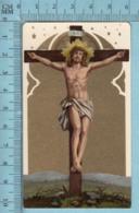 KCGO 27/95 Germany - Gold Print, Christ En Croix -  Image Pieuse, Religieuse, Holy Card, Santini - Images Religieuses
