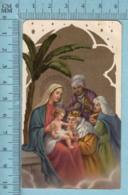 KCGO 27/1 Germany - Gold Print, Adoration Des Rois Mages -  Image Pieuse, Religieuse, Holy Card, Santini - Images Religieuses