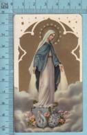 KCGO 27/25 Germany - Gold Print, Immaculé Conception Ecrasant Un Serpent -  Image Pieuse, Religieuse, Holy Card, Santini - Images Religieuses