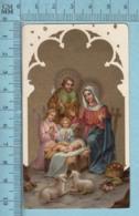 KCGO 27/3 Germany - Gold Print, Adoration Des Anges -  Image Pieuse, Religieuse, Holy Card, Santini - Images Religieuses