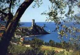 Malcesine - Lago Di Garda - Il Castello - Scorcio Panoramico - 307-023 - Formato  Grande Viaggiata – E 10 - Verona