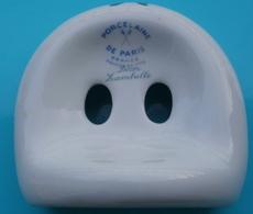 Porte Brosse à Dents En Porcelaine De PARIS, Décor Lamballe - Autres