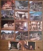 Lot De 17 Cartes Postales  / Traditions Les Petits Métiers De Chez Nous /collection AS De Coeur - Paysans