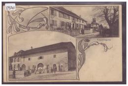 DISTRICT D'YVERDON - TREYCOVAGNES - B ( PETIT PLI D'ANGLE ) - VD Vaud