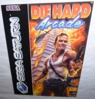 Carte Postale (avec Coupon Détachable) Die Hard Arcade (jeu Video) Sega Saturn - Werbepostkarten