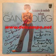LP Dédicacé Autographe Par Jane BIRKIN : Histoire De Melody Nelson - Concept Album De Serge Gainsbourg - Collector's Editions