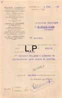 29-0801    1930 SOCIETE GENERALE A POITIERS - M. TRANCHANT A SAINT JULIEN L ARS - 1900 – 1949
