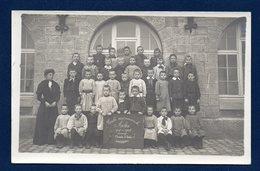 Arlon. Carte-photo. Ecole  Communale Garçons.  2ème Année  1907-08. Photo E. Gavroy , Habay-la-Neuve - Arlon