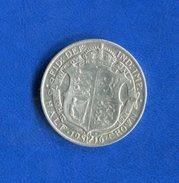 Uk  Florin  1916  Arg - 1902-1971 : Monnaies Post-Victoriennes