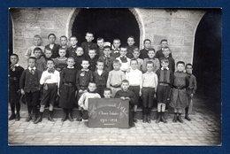 Arlon. Carte-photo. Ecole Communale Garçons . 5ème Année   1910-11. Photo Eugène Gavroy , Habay-la-Neuve - Arlon