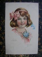 Girl-E.Frank-Slovenia-1920  (4025) - Ritratti