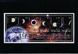 Maldives 1999 Solar Eclipse Block Postfrisch / MNH - Astronomie
