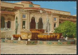 °°° 13070 - SAUDI ARABIA - NASIRIA PALACE , RIADH - 1974 With Stamps °°° - Arabia Saudita