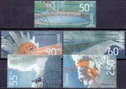 IJsland 2004 Energie GB-USED. - 1944-... Republique
