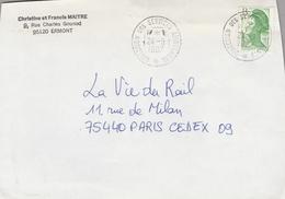 LSC 1987 - Cachet  DIRECTION Des SERVICES AMBULANTS - Marcophilie (Lettres)