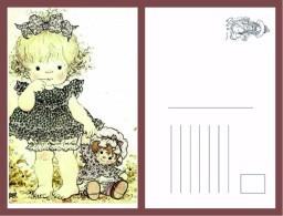 POSTAL SARAH KAY-99 - Dibujos De Niños