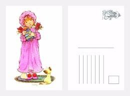 POSTAL SARAH KAY-91 - Dibujos De Niños