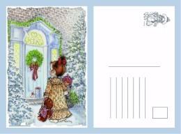 POSTAL SARAH KAY-86 - Dibujos De Niños