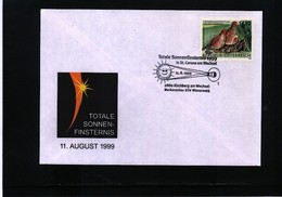 Austria / Oesterreich 1999 Solar Eclipse Interesting Cover - Sterrenkunde