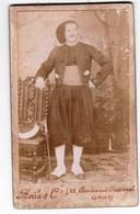 CDV  Portrait D'un Spahi En Uniforme Avec épée  Nommé Martial Brière  Par Avila D'Oran (Algérie) - Guerre, Militaire