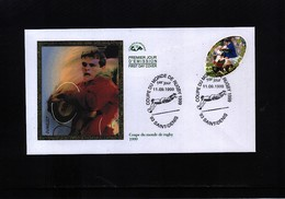 France / Frankreich 1999 World Rugby Championship FDC - Rugby