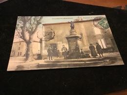Villeneuve Minervois Fontaine De La République - Autres Communes