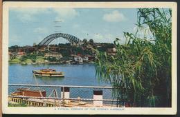 °°° 13077 - AUSTRALIA - A TYPICAL CORNER OF THE SYDNEY HARBOUR - 1961 °°° - Sydney