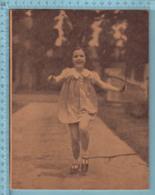 Cahier Scolaire Vierge - Deux Lignes , Theme Enfant  Corde à Sauter,Bilingue Electrification & Table De Multiplication - Autres Collections