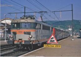 BB 9622 Avec TER à Ambérieu (01) - - Stations With Trains