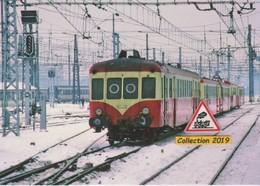Autorails X 2400 Et Remorques à Bordeaux (33) - - Trains