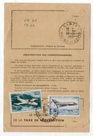 1968--Composition De Tps N° PA 42+PA 39 Sur Ordre De Réexpédition Temporaire-cachets Ronds CANDE-49.............à Saisir - Marcophilie (Lettres)