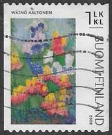 Finland 2009 Flower Paintings 1 Klass Type 2 Good/fine Used [39/31888/ND] - Finland