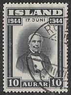 Iceland SG265 1944 Proclamation Of Republic 10a Good/fine Used [39/31890/6D] - 1944-... Republic