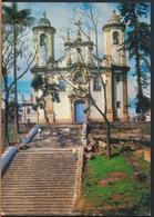 °°° 13086 - BRASIL - OURO PRETO - IGREJA DE N. SENHORA DO CARMO - 1968 With Stamps °°° - Belo Horizonte