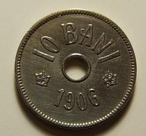 Romania 10 Bani 1906 J Varnished - Romania