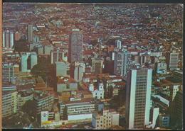 °°° 13088 - COLOMBIA - MEDELLIN - SCETOR CENTRAL DE LA CIUDAD - 1972 With Stamps °°° - Colombia