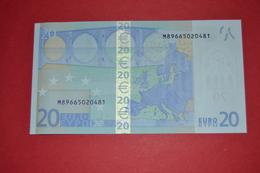 20 EURO U025E2  PORTUGAL U025 E2 - DRAGHI - M89665020481 - UNC - NEUF - FDS - EURO
