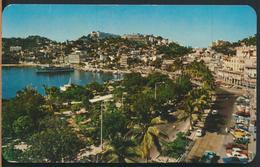 °°° 13089 - MEXICO - ACAPULCO - LA COSTERA MIGUEL ALEMAN Y EL MALECON - 1971 °°° - Messico