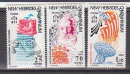 NOUVELLES HEBRIDES        N° YVERT   429/431    NEUF SANS CHARNIERES       ( NSCH 09 ) - Neufs