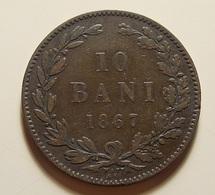 Romania 10 Bani 1867 - Roumanie